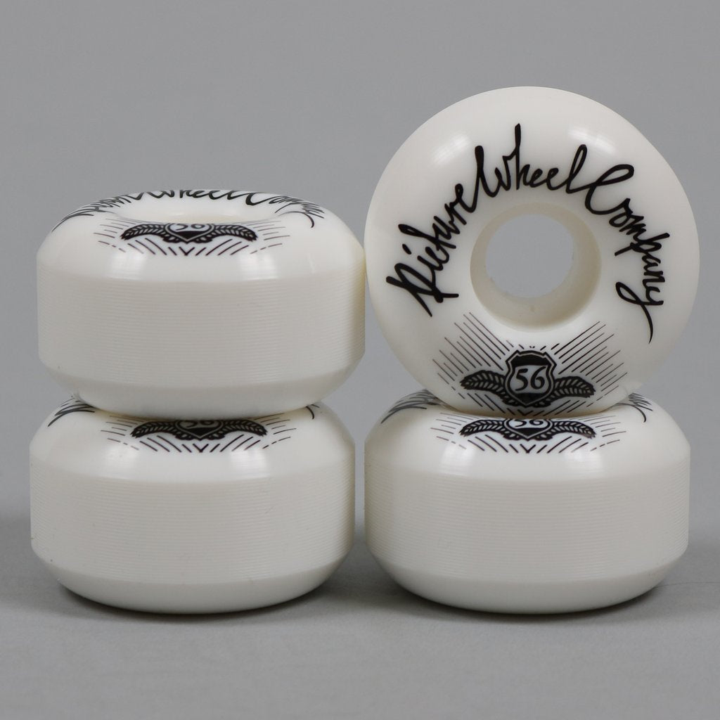 Picture POP Wheels 56mm White / Blue
