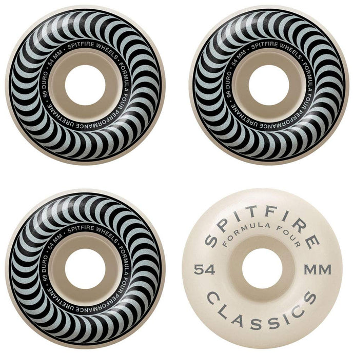 Spitfire Formula Four Classic 101 Wheels - 54mm