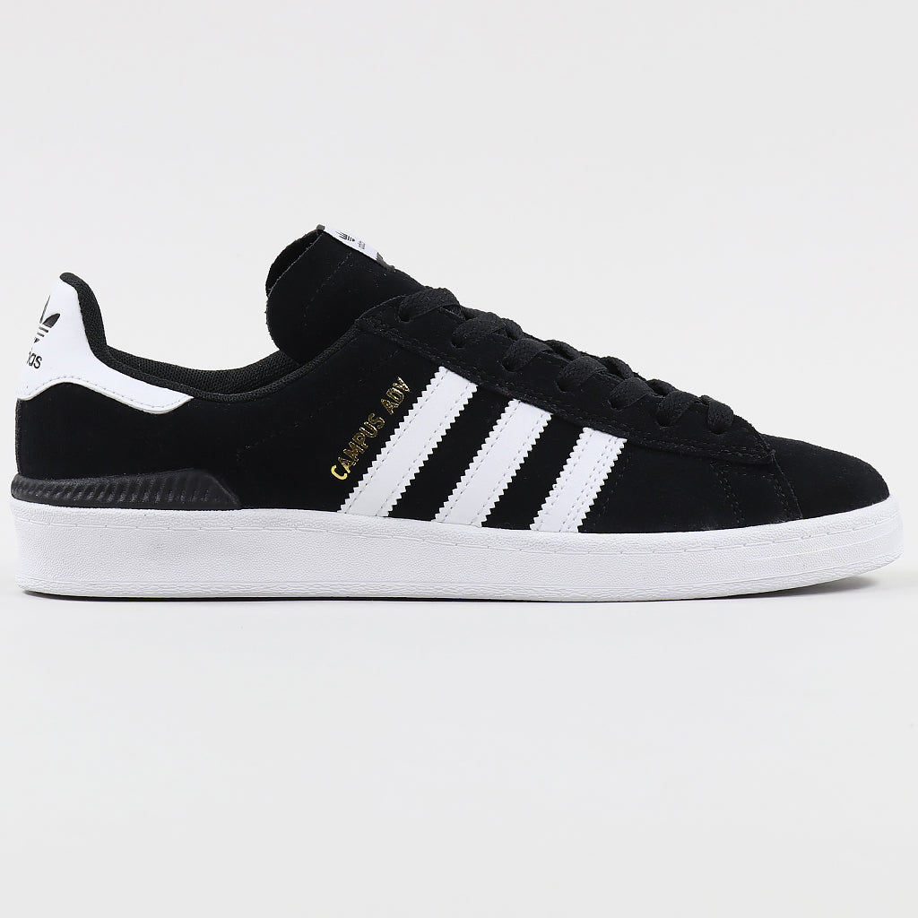 Adidas Campus ADV Skate Shoe Black/White