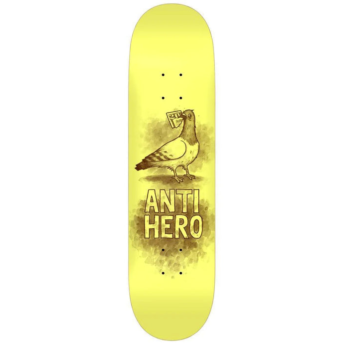 Anti Hero PP Budgie Deck Pale Yellow 7.75