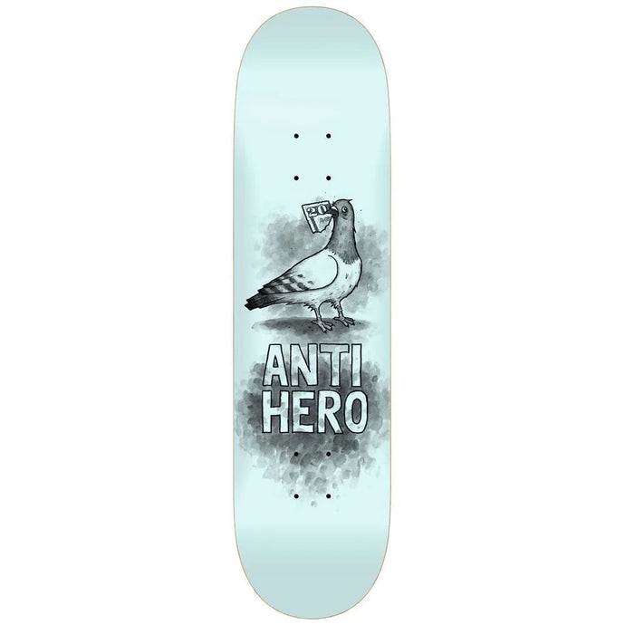 Anti Hero PP Budgie Deck Pale Blue 8.06