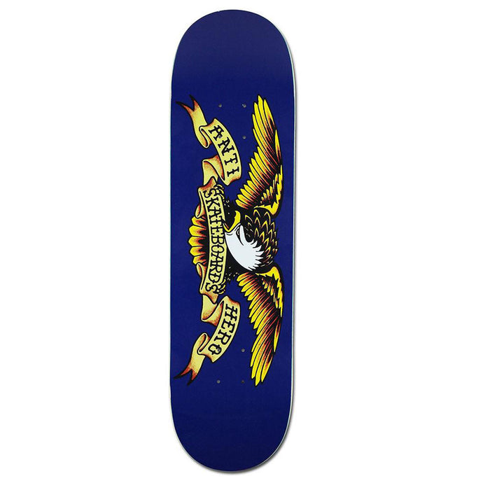 Anti Hero Classic Eagle Deck Blue - 8.5