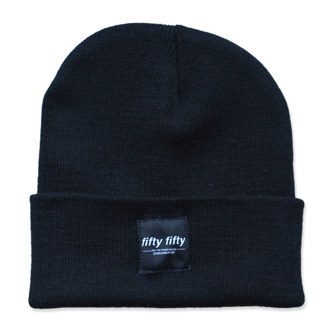 Fifty Fifty Trademark Beanie Black