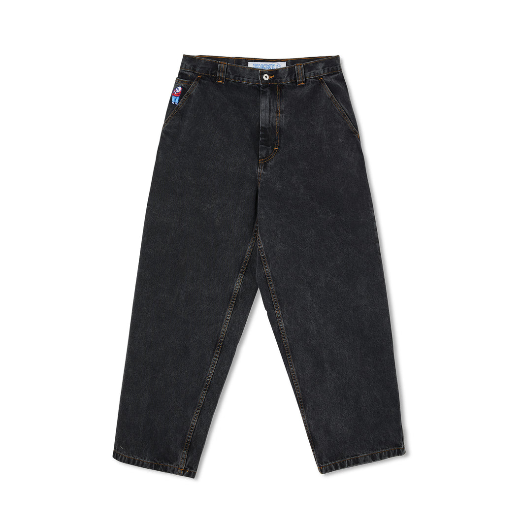 Polar Skate Co Big Boy Work Pants Washed Black