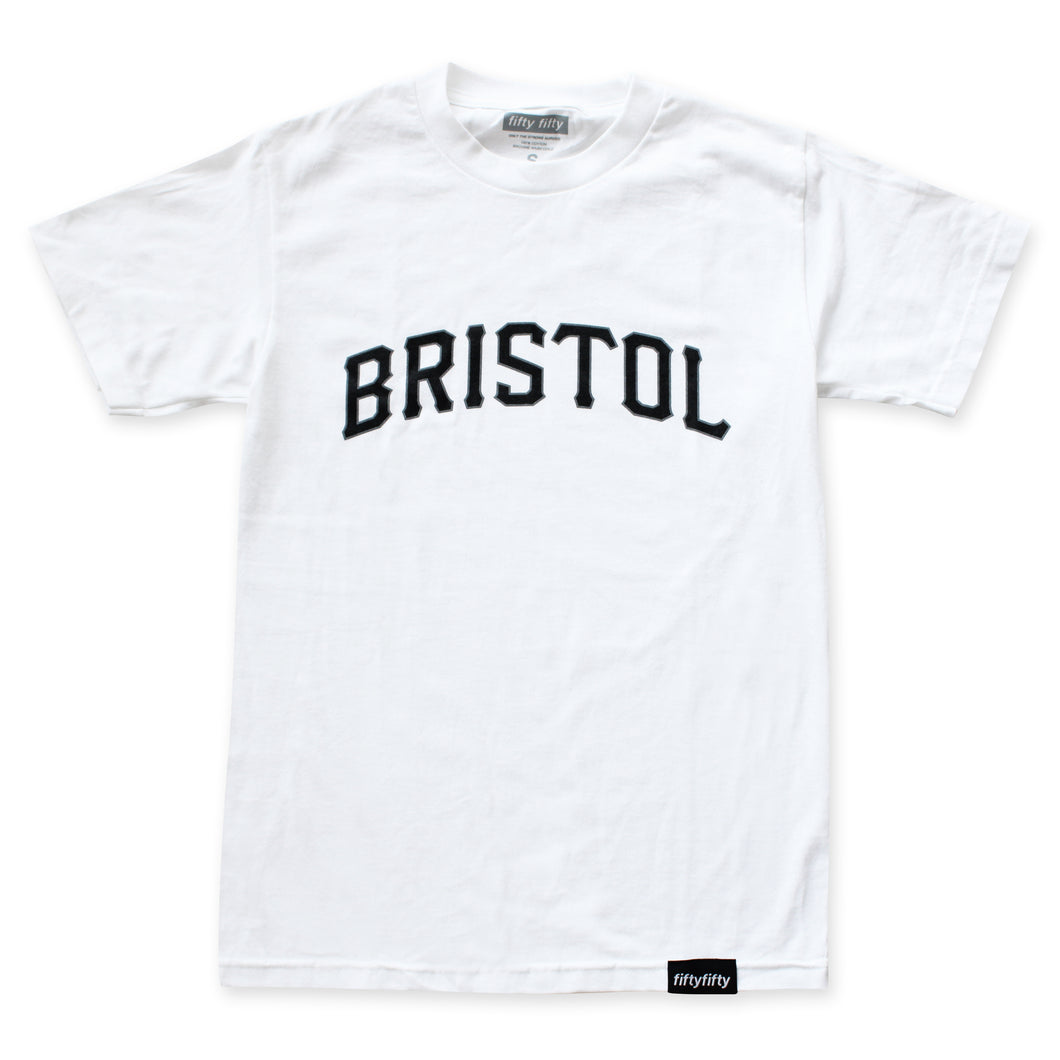 Fifty Fifty Bristol T-Shirt White