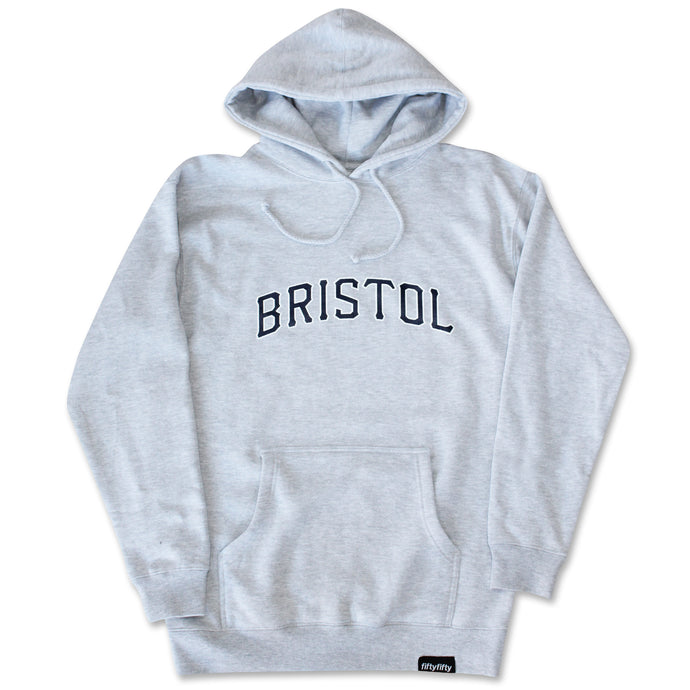 Fifty Fifty Bristol Hood Heather Grey