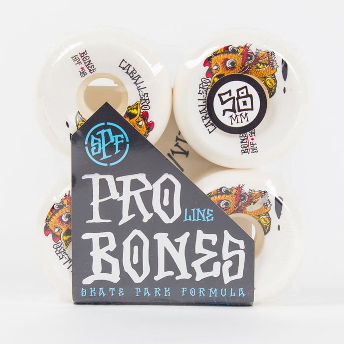Bones Caballero Baby Dragon SPF Wheels - 58mm