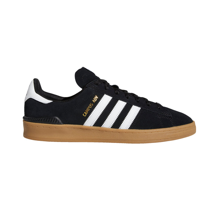 Adidas Campus Adv Shoe Black/Gum/White