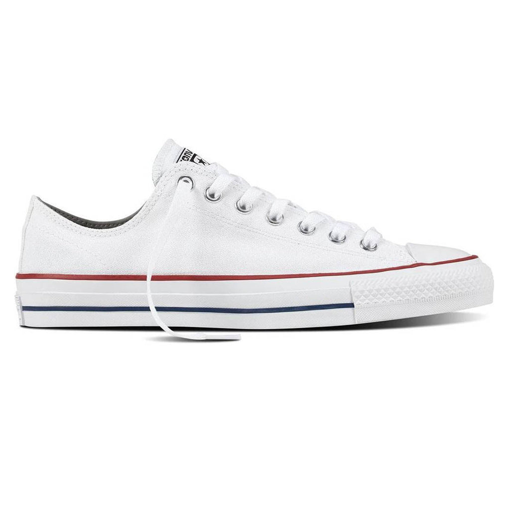 871c9f3d773275 Converse Cons CTAS Pro Low OX Shoe White Red – 5050store