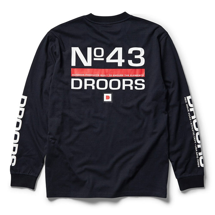 Droors No43 LS T-Shirt Navy