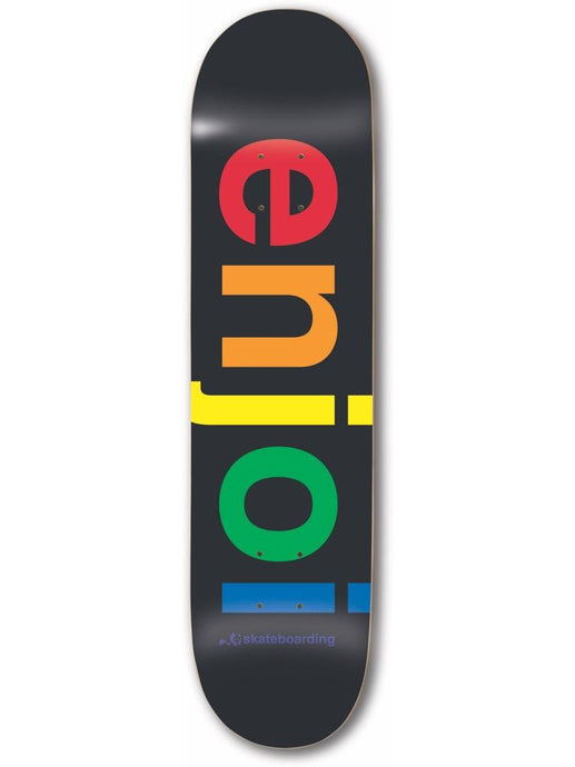 Enjoi Spectrum Black 8.25 R7 Deck