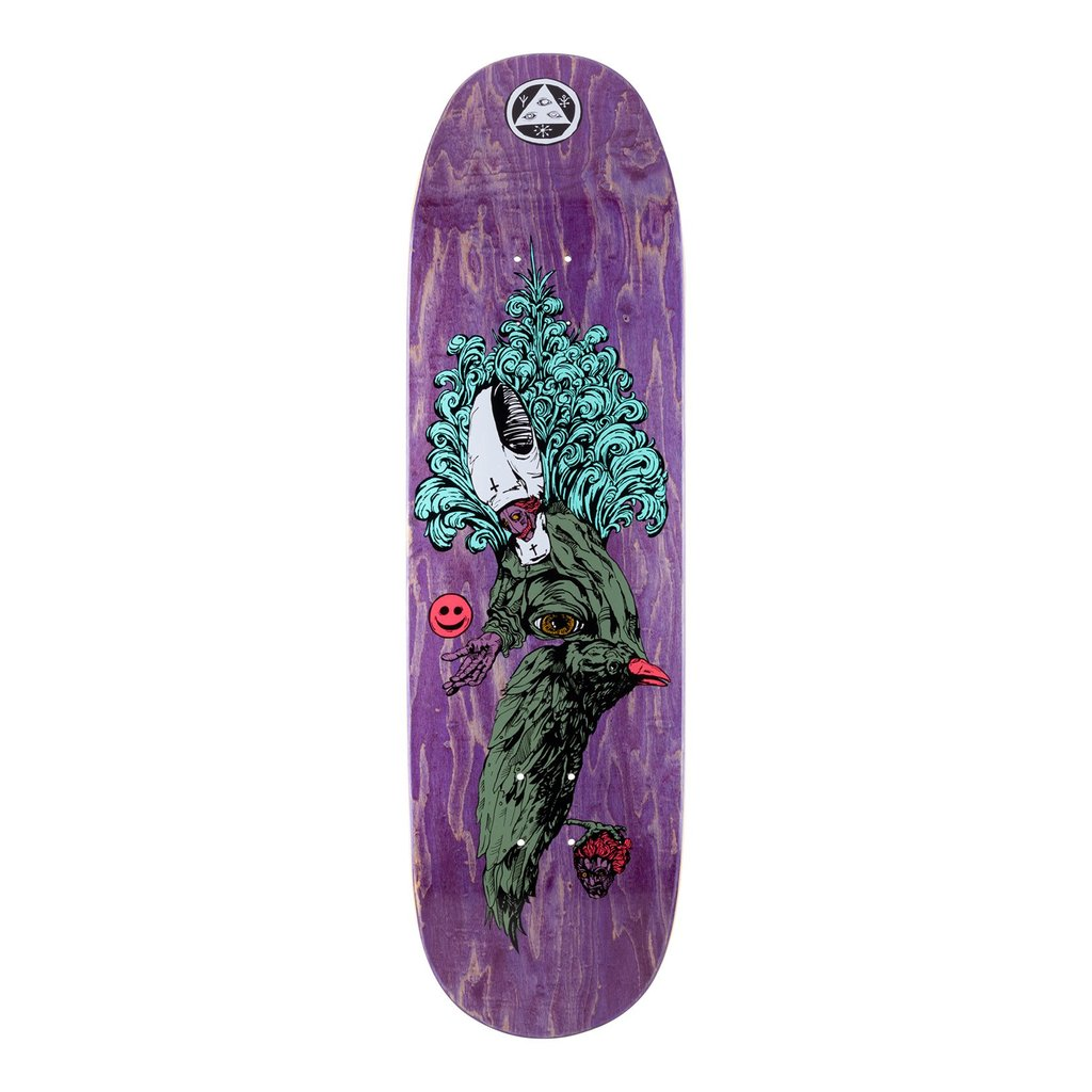 Welcome Skateboards Tonight I'm Yours on Baculus Deck Purple Stain 9.0
