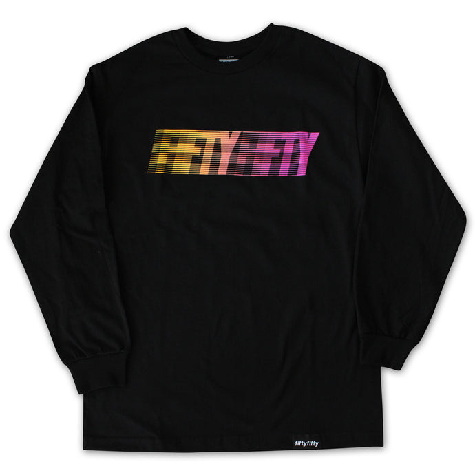 Fifty Fifty Fast L/S T-Shirt Black
