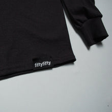 Fifty Fifty Trademark LS T-Shirt Black