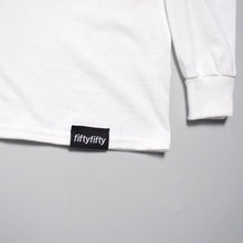 Fifty Fifty Trademark Longsleeve T-Shirt White
