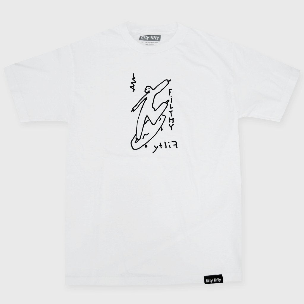 Fifty Fifty Alv T-Shirt White