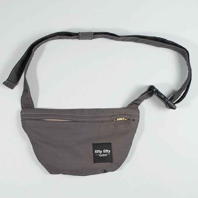 Fifty Fifty Hip Bag Grey