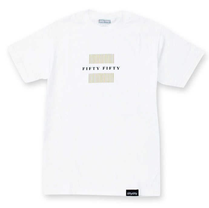 Fifty Fifty Filter T-Shirt White