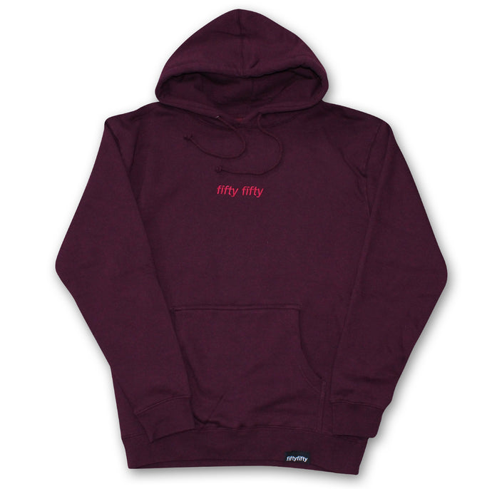 Fifty Fifty Tonal Hood Burgundy