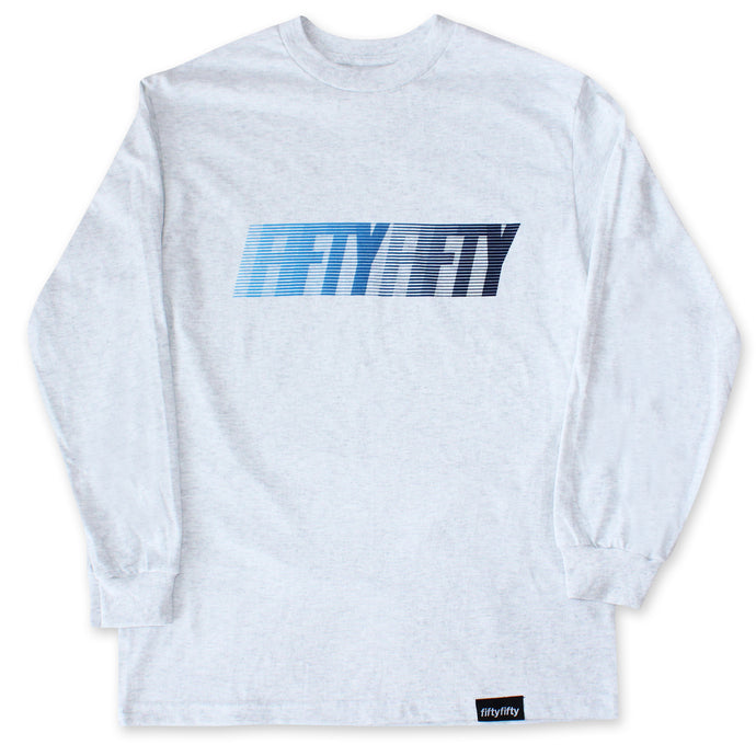 Fifty Fifty Fast L/S T-Shirt Ash Heather