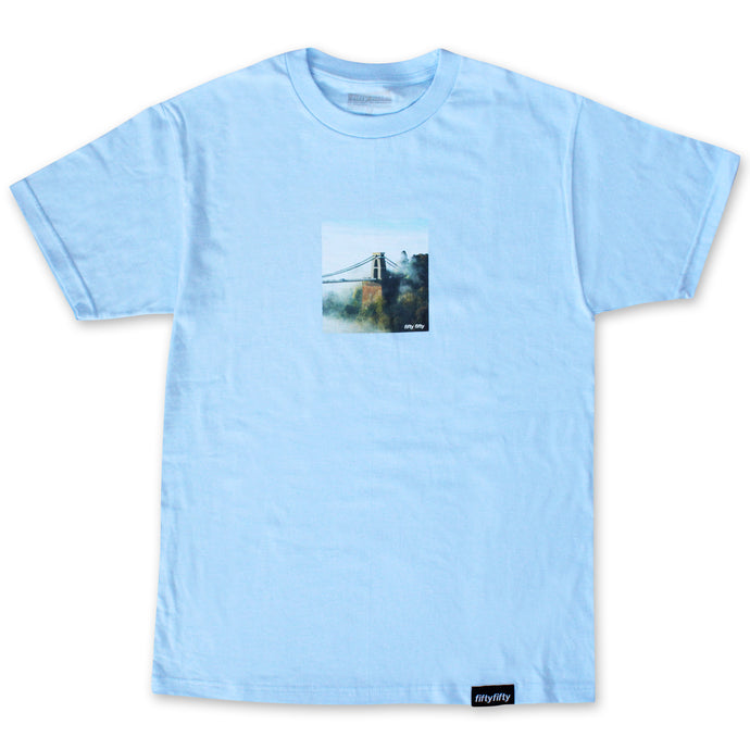 Fifty Fifty Bridge T-Shirt Powder Blue