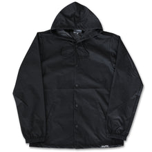 Fifty Fifty Outline Hooded Coach Jacket Black