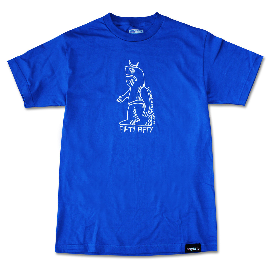 Fifty Fifty Gonz T-Shirt Royal Blue