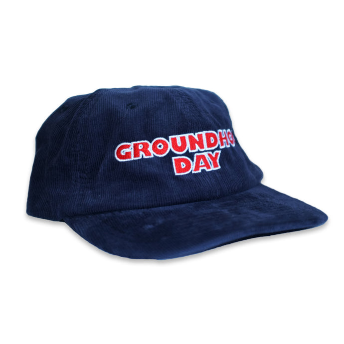 Alcohol Blanket Groundhog Day Cap Navy