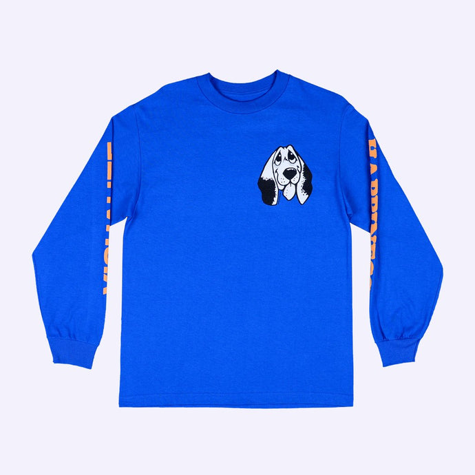 Quasi Happiness L/S T-Shirt Royal