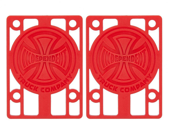 Independent Riser Pads Red
