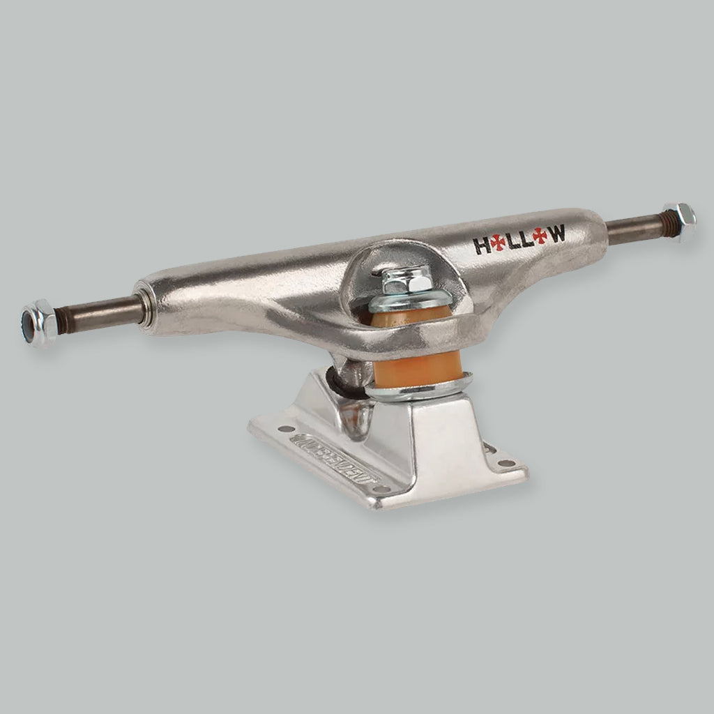 Independent 139 Standard Forged Hollow Trucks Silver