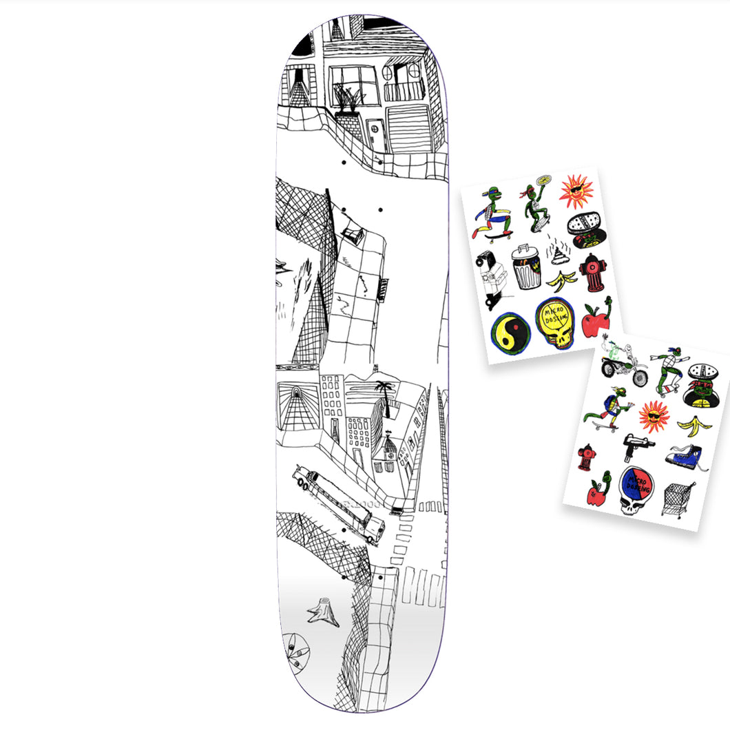 GX1000 Joe Sticker (TWO) Deck Assorted Sizes