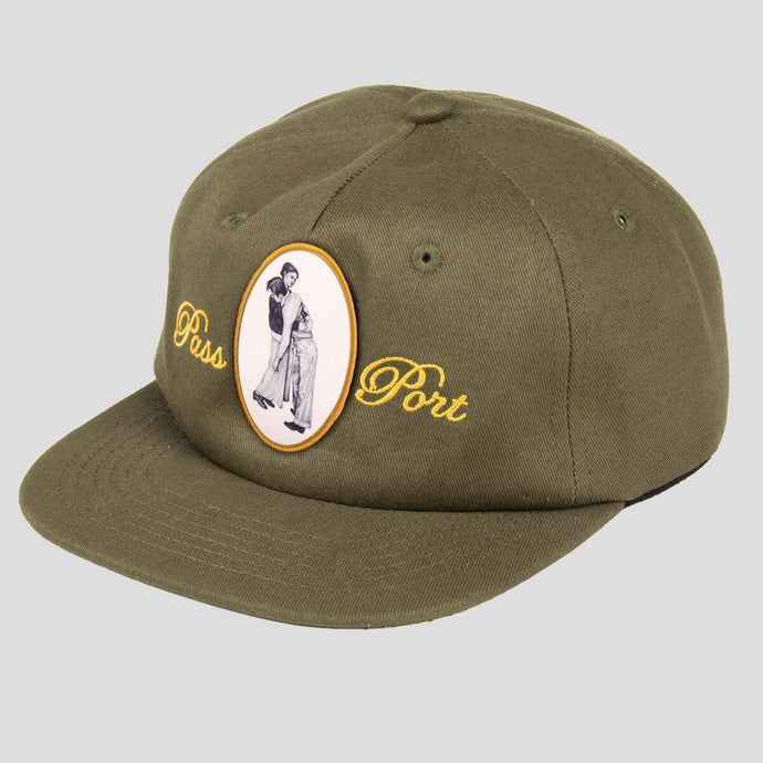 Pass~Port Auto Lean On Me 5-Panel Cap Olive