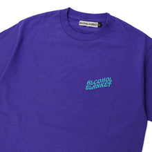 Alcohol Blanket Logo T-Shirt Purple