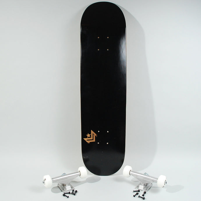 Mini Logo Complete Skateboard Black - 8.25