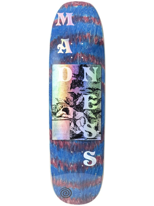Madness Skateboards Dreams Red Swirl Deck 8.75
