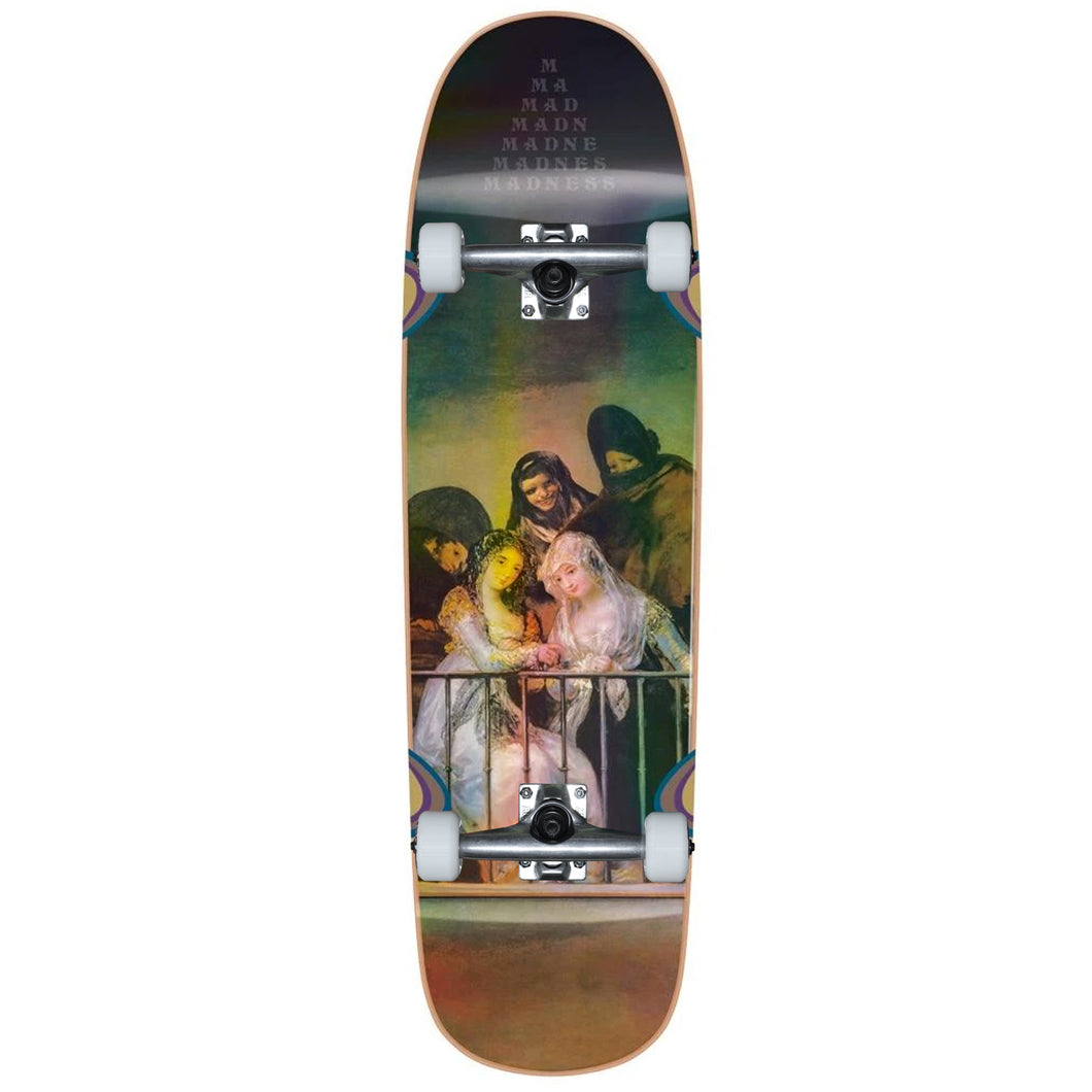 Madness Skateboards Creeper Holographic Custom Complete 8.5