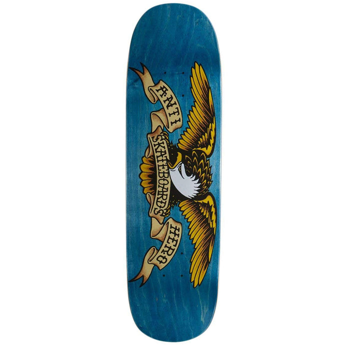 Anti Hero Shaped Eagle Blue Meanie Deck - 8.75