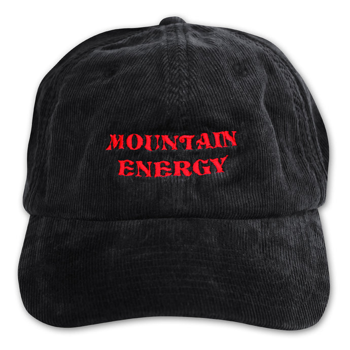 Fore-cast Mountain Energy Cord Cap Black