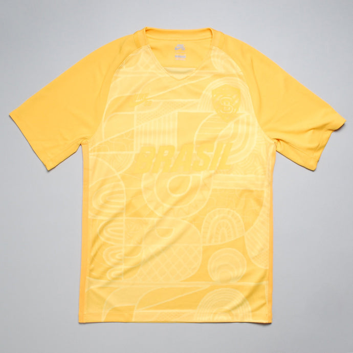 Nike SB Brazil Football Shirt Yellow