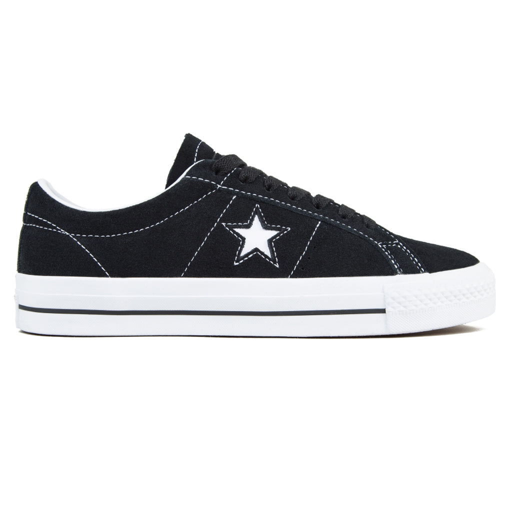 Converse Cons One Star Pro OX Shoe Black/White