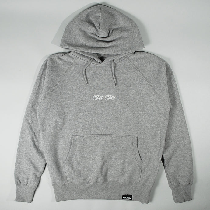Fifty Fifty Outline Hood Grey