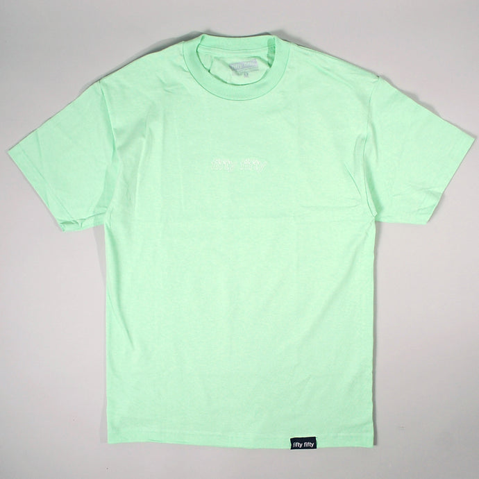Fifty Fifty Outline T-Shirt Mint