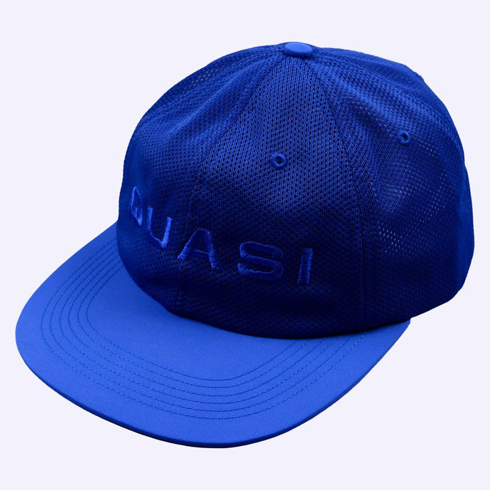 Quasi Perf 6 Panel Cap Royal