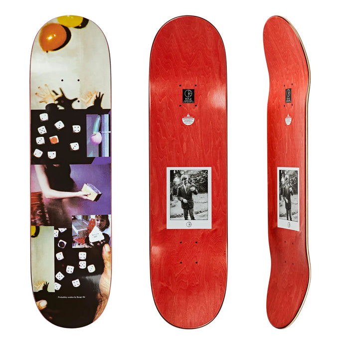 Polar Skate Co Bengt Alv Probability Studies Deck Assorted Sizes