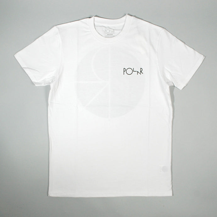 Polar Skate Co Fill Logo T-Shirt White