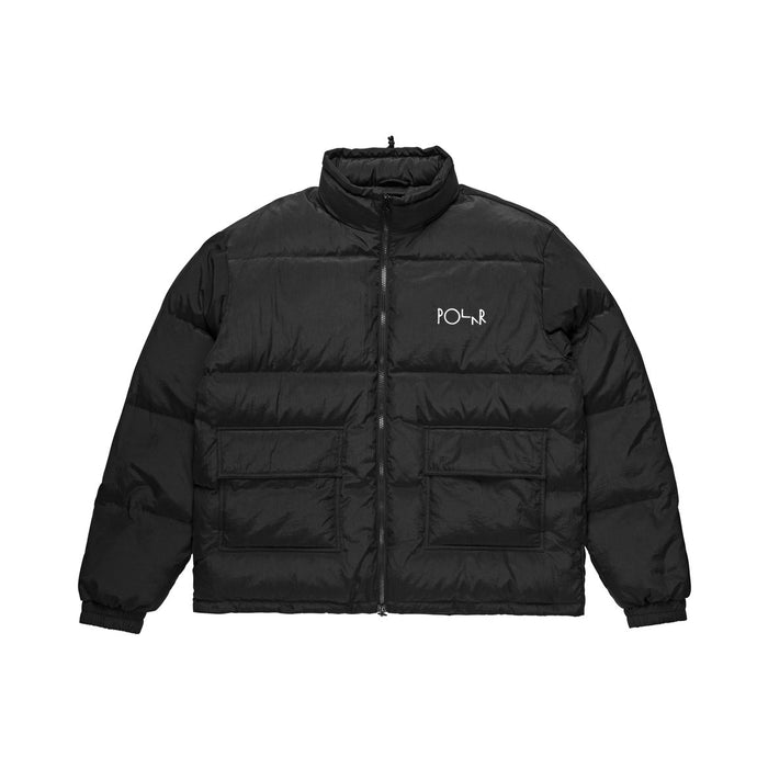 Polar Skate Co Pocket Puffer Black