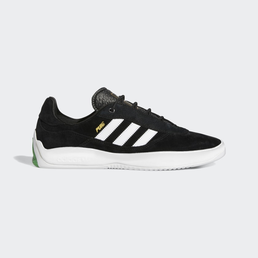 Adidas Puig Shoe Core Black/Cloud White/Vivid Green