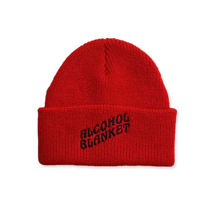 Alcohol Blanket Beanie Red