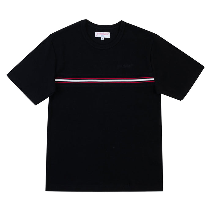 Yardsale Ribbed Tee Black